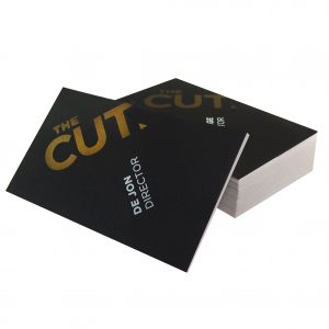 Business cards gloss laminated equator print business cards metallic foil embossed reheart Images