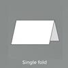 Single Fold (Landscape)